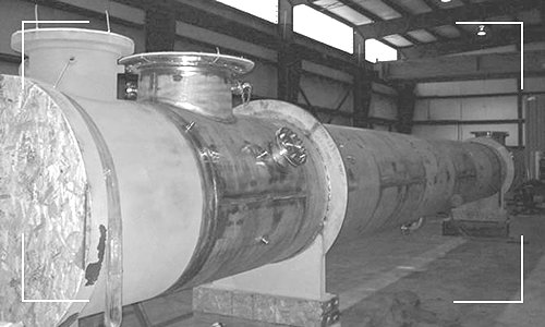 SS-HX Heat Exchanger Built by Apex Engineered Producs.
