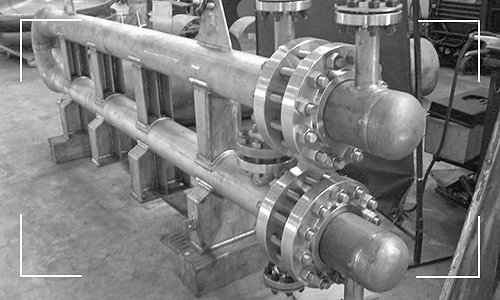 Tema-R Heat Exchanger Built by Apex Engineered Products.