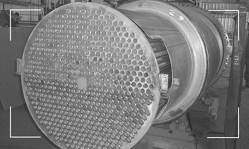Alloy 800 Heat Exchanger Built by Apex Engineered Products.