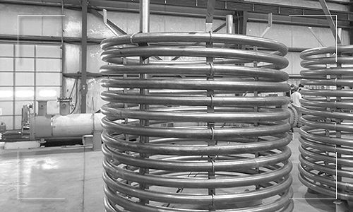 Helical Coil Manufactured by Apex Engineered Products.
