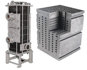 Cubical Polyblock Heat Exchanger