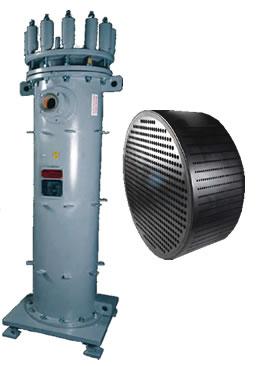 Cylindrical Polyblock Heat Exchanger
