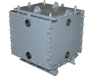 Monoblock Graphite Heat Exchanger