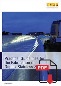 Duplex stainless steels are a family of grades combining good corrosion resistance with high strength and ease of fabrication. Their physical properties are between those of the austenitic and ferritic stainless steels but tend to be closer to those of the ferritics and to carbon steel. The chloride pitting and crevice corrosion resistance of the duplex stainless steels are a function of chromium, molybdenum, tungsten, and nitrogen content. They may be similar to those of Type 316 or range above that of the sea water stainless steels such as the 6% Mo austenitic stainless steels.