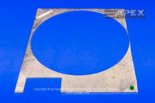Zirconium Odd Shape Plate