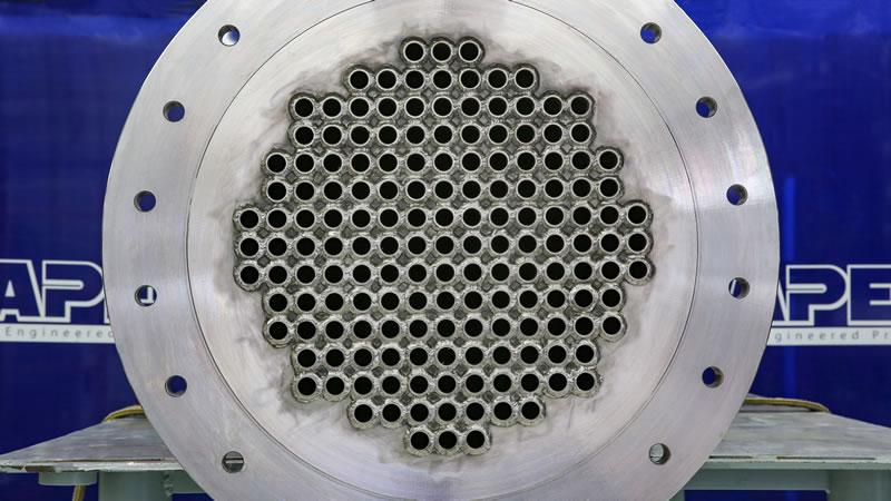Heat exchanger after repair photo 1
