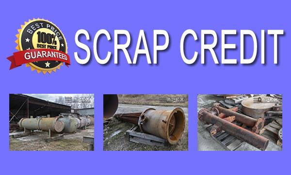 Scrap Credit For Obsolete Equipment