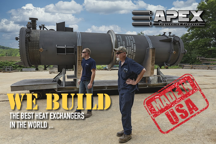 Apex builds the best heat exchangers in the world!