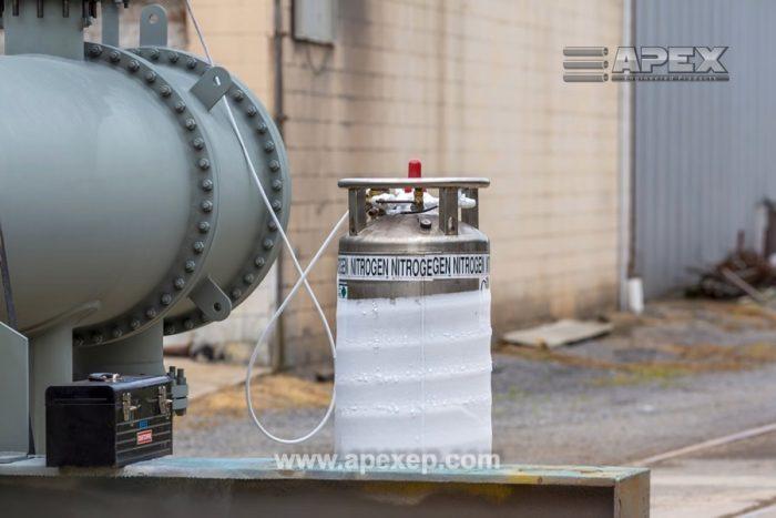 Nitrogen purging - Apex field services photo 3