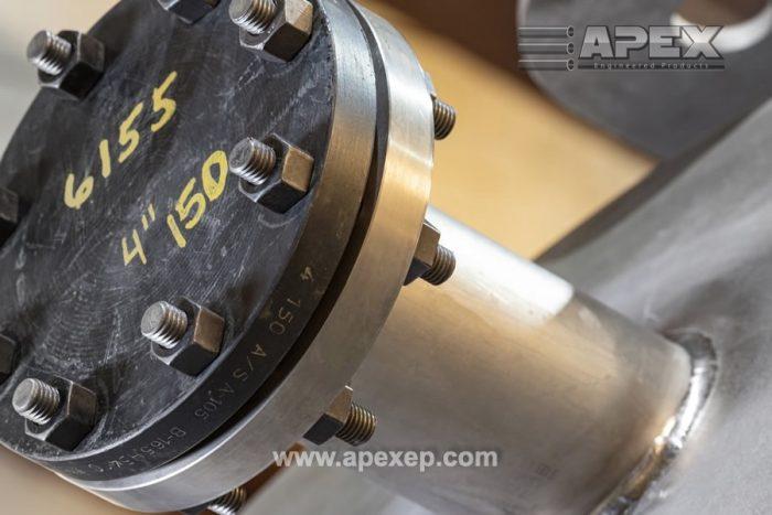 Titanium tank nozzles closeup - Photo 2