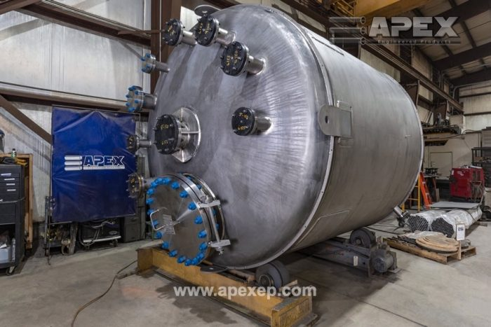 Titanium Tank designed and built by Apex Engineered Products