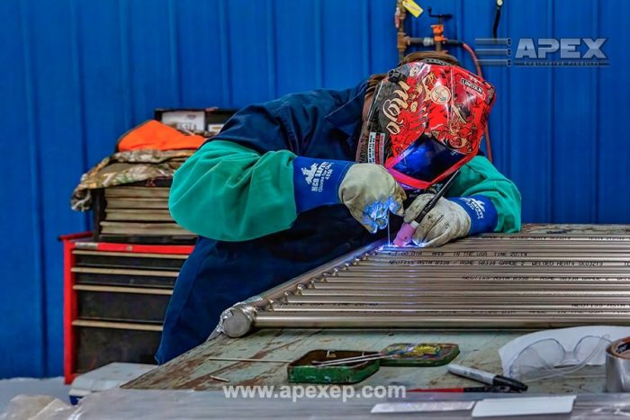 Titanium Grade 2 Coils Welding and Fabrication at Apex Engineered Products - Photo 4