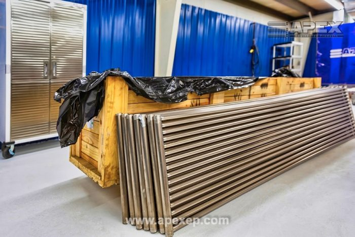 Titanium Grade 2 Coils Welding and Fabrication at Apex Engineered Products - Photo 3