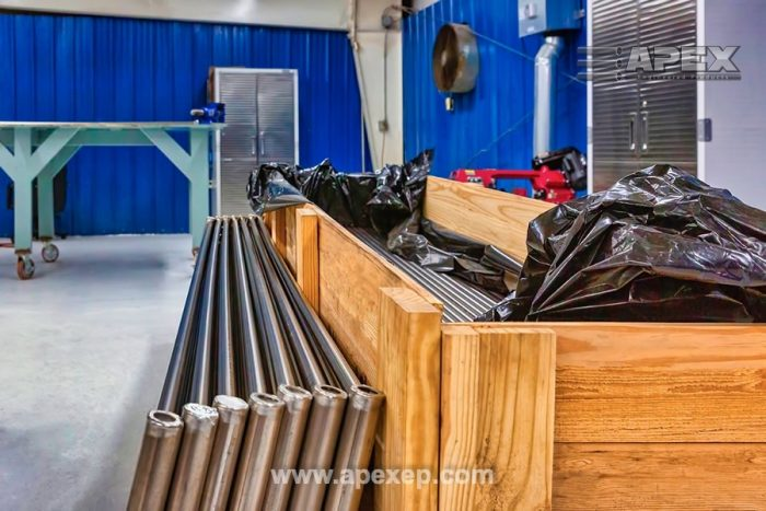 Titanium Grade 2 Coils Welding and Fabrication at Apex Engineered Products - Photo 2