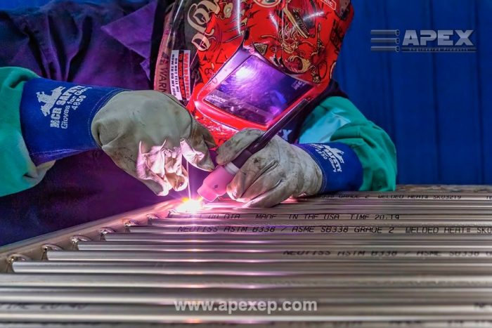Titanium Grade 2 Coils Welding and Fabrication at Apex Engineered Products