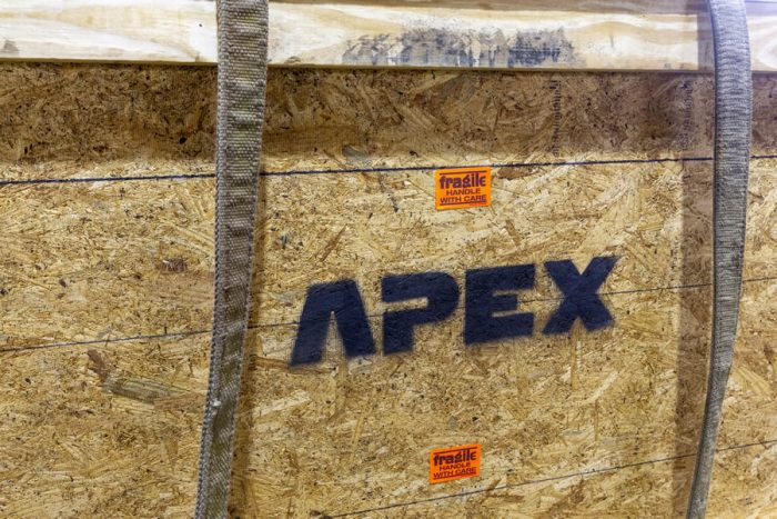Apex's Titanium Immersion Coils are ready for despatch to the customer
