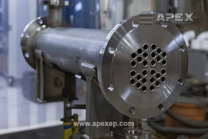 Tantalum Heat Exchanger Fabricated by Apex Engineered Products Photo 3