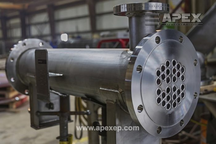Tantalum Heat Exchanger Fabricated by Apex Engineered Products