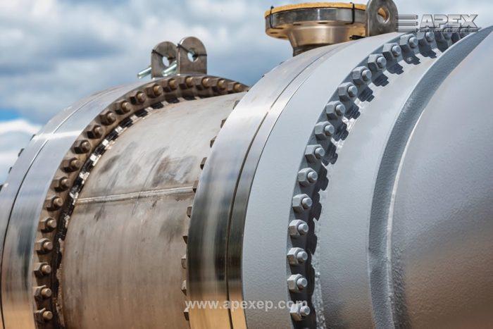 Geothermal Steam Generator closeup photo