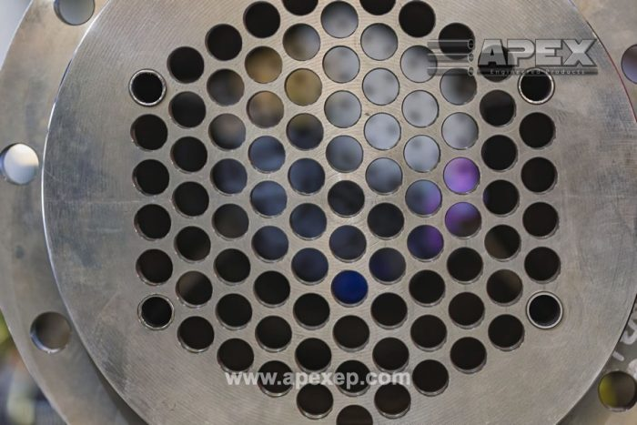 Alloy 20 liquid heater for steel production - Photo 2