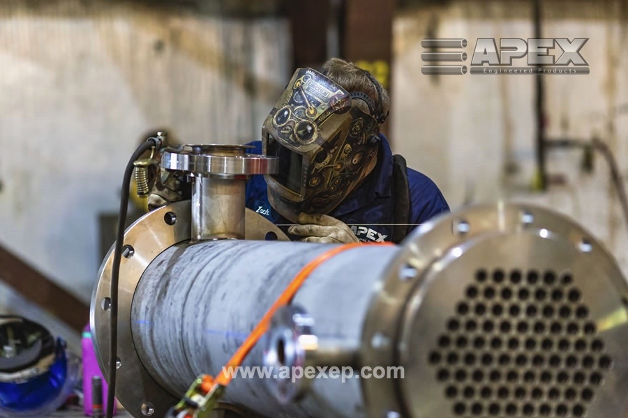 Alloy 20 liquid heater for steel production - Photo 3