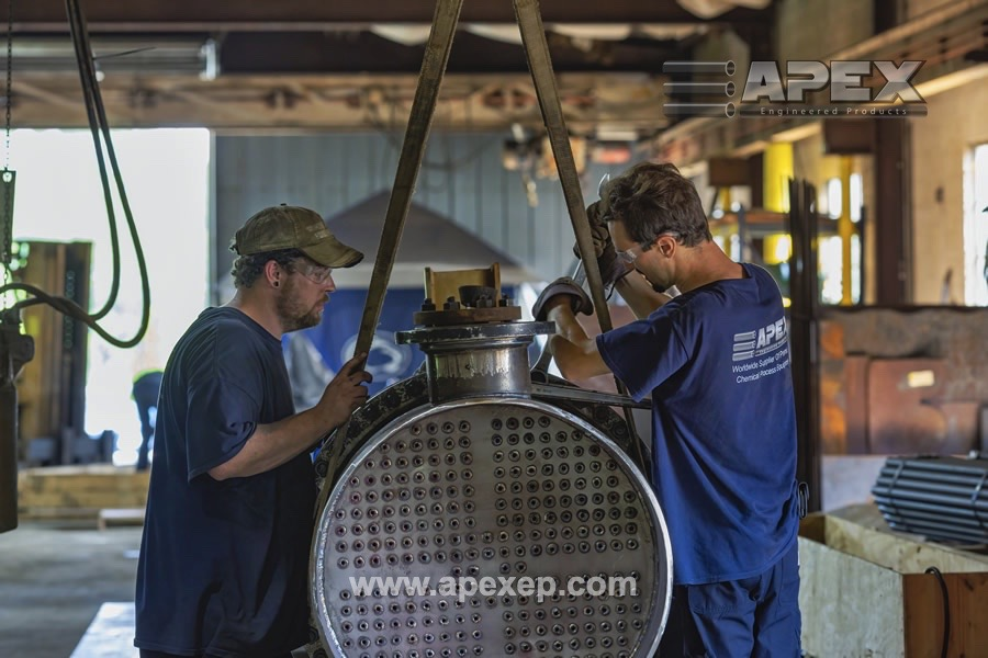 Chlorine Vaporizer repair by Apex Engineered Products- Photo 10