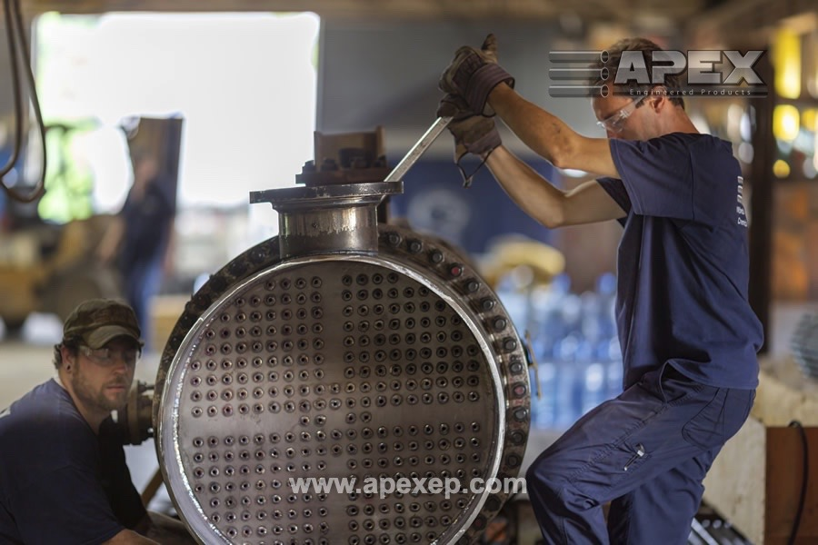 Chlorine Vaporizer repair by Apex Engineered Products- Photo 8