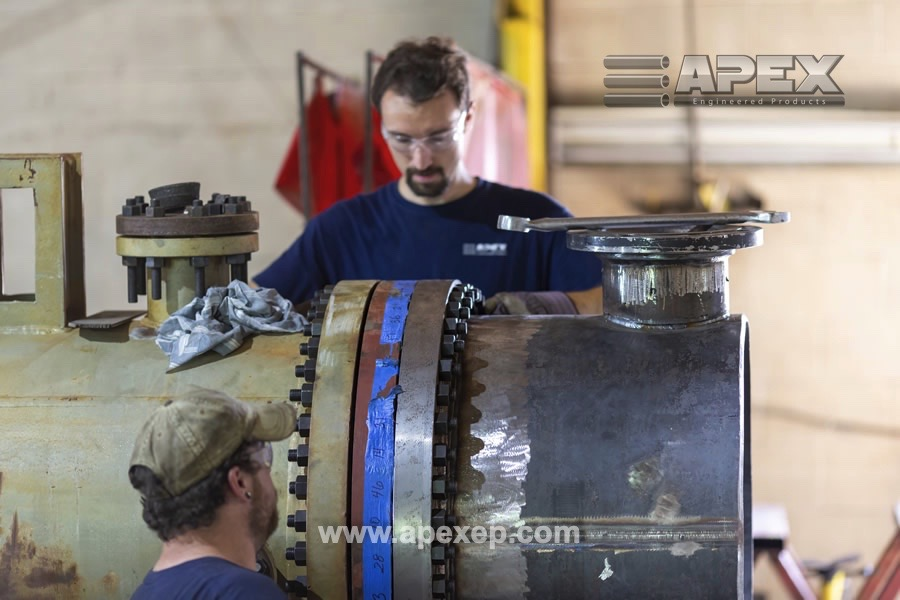 Chlorine Vaporizer repair by Apex Engineered Products- Photo 6