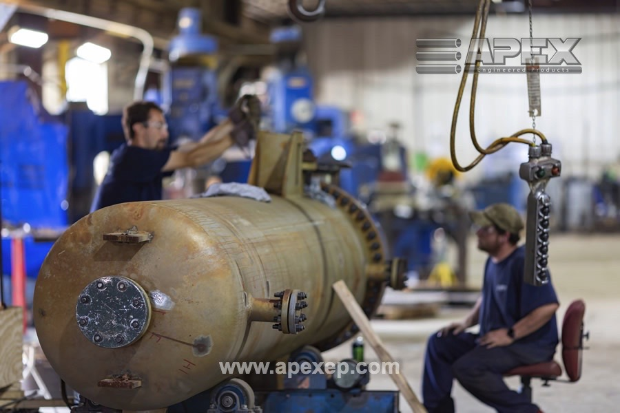Chlorine Vaporizer repair by Apex Engineered Products- Photo 5