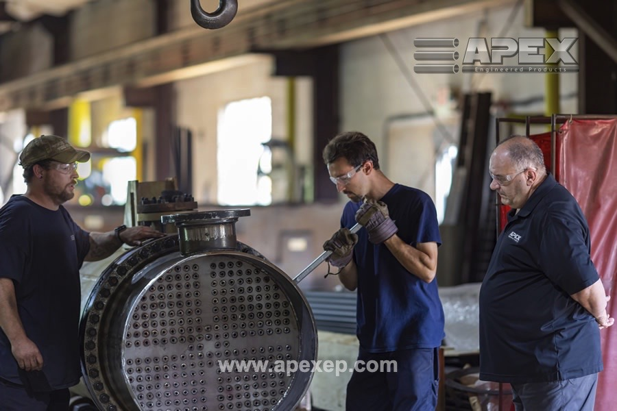 Chlorine Vaporizer repair by Apex Engineered Products- Photo 2