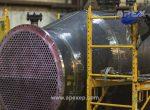 Intermediate column condenser fabrication photo 1