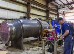 Intermediate column condenser testing photo 17