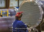 Intermediate column condenser welding photo 3