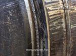 Intermediate column condenser weld closeup photo 9