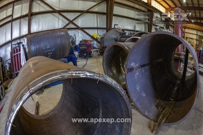 Turbine Gas Heater Initial Fabrication Stages - Photo 5