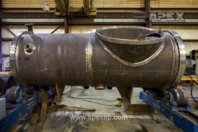 Turbine Gas Heater Fabrication Photo 17
