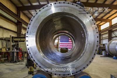 Turbine Gas Heater Fabrication Photo 16