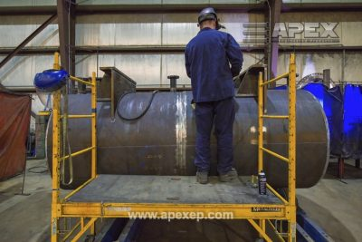 Turbine Gas Heater Fabrication Photo 23