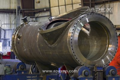 Turbine Gas Heater Fabrication Photo 11