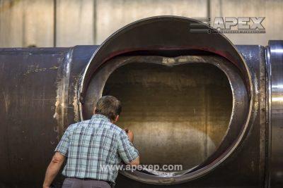 Visual Inspection of Turbine Gas Heater Photo 1