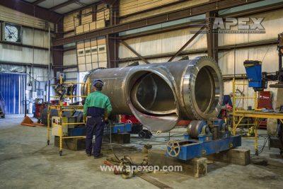 Turbine Gas Heater Fabrication Photo 4