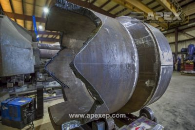 Turbine Gas Heater Initial Fabrication Stages - Photo 3